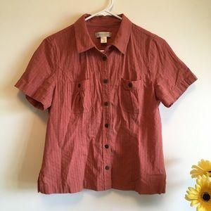Christopher & Banks Button Down Shirt